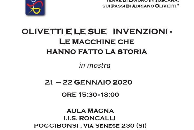 Al Roncalli in mostra le macchine Olivetti che hanno fatto la storia
