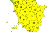 Codice giallo per vento forte su tutta la regione