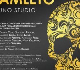 Al teatro degli Oscuri di Torrita di Siena, 'Amleto. Uno studio'