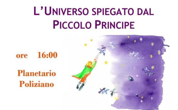 """La Società Astronomica Poliziana legge """"L'Universo del Piccolo Principe"""""""
