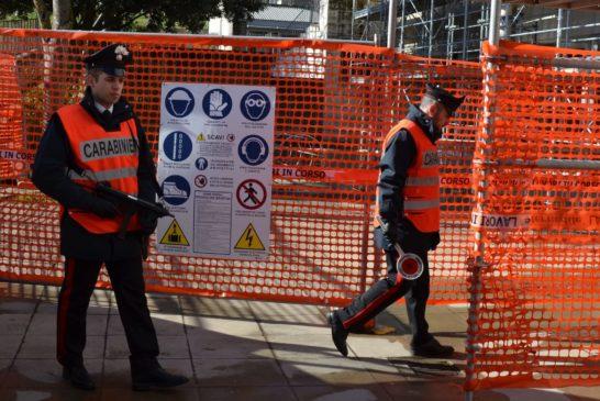 Quattro lavoratori in nero scoperti dai Carabinieri in un cantiere edile
