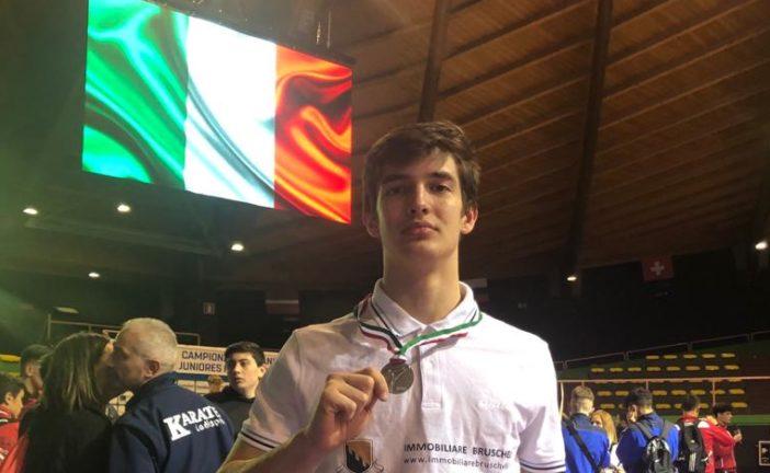 Karate: Cesare Banfi è vicecampione italiano
