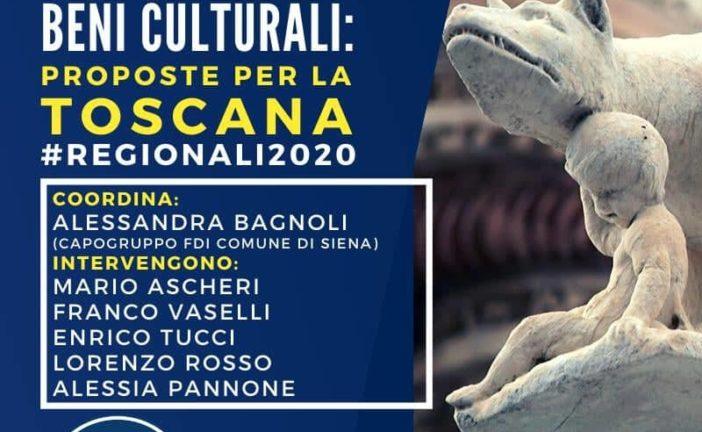 """Un convegno FdI su """"Tutela dei Beni Culturali: proposte per la Toscana"""""""