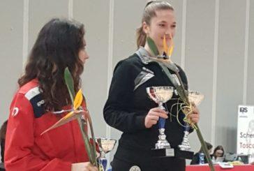 Cus Siena: oro per la sciabola, bronzo per il fioretto