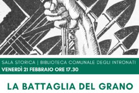 """Agricoltura, frumento e fascismo: i temi cardine della conferenza """"Battaglia del grano nel ventennio fascista"""