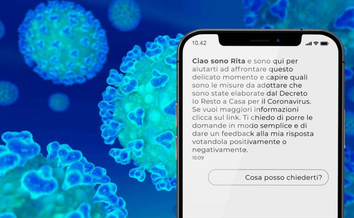 Coronavirus: De Mossi presenta Rita, assistente virtuale per le PA