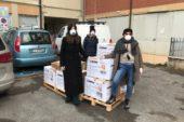 Soroptmist Siena consegna i primi dpi all'ospedale