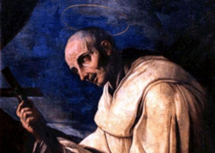 Il drappellone di agosto dedicato al Beato Bernardo Tolomei