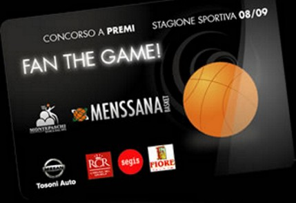 """La Mens Sana ti premia con """"Fan the game!"""""""