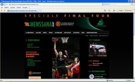 Mens Sana Basket: da lunedì on line il nuovo sito