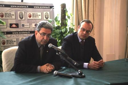 """Mezzaroma: """"Perinetti è il primo mattone su cui ricostruire il Siena"""""""