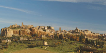 Sistema integrato per il turismo tra Orvieto, Saturnia e Montepulciano-Pienza