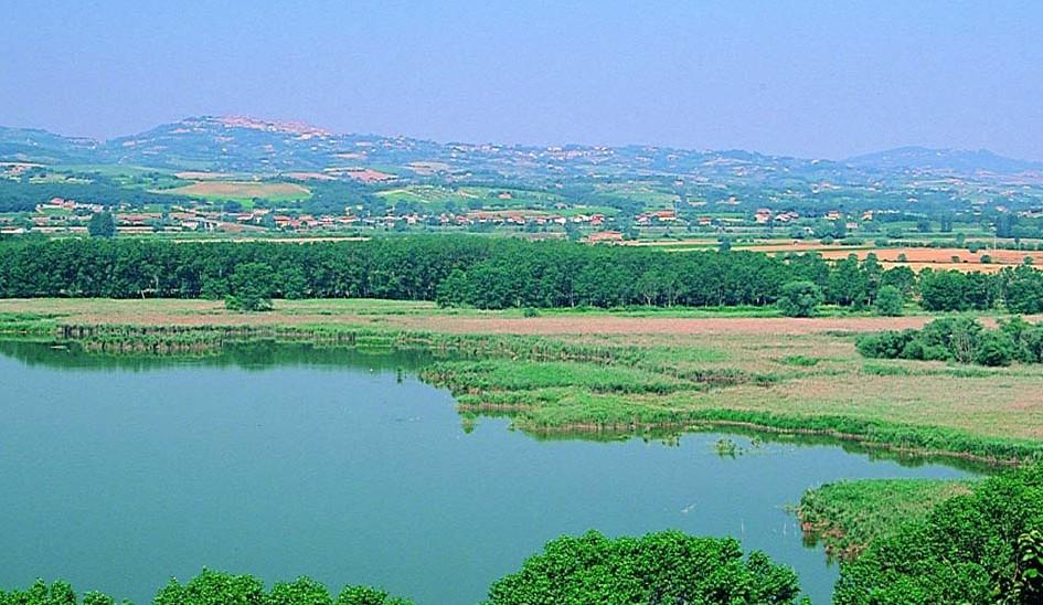 La storia della bonifica: mostra allestita nell'oasi del lago di Montepulciano