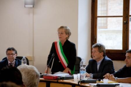 Lucia Coccheri al fianco di Bersani. Ecco perchè