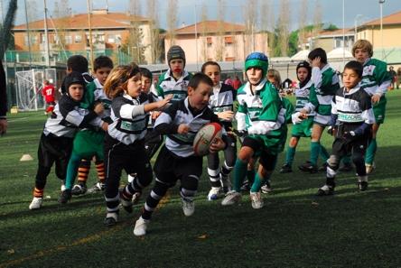"Rugby. i ""tigrotti"" Under 8 hanno esordito a Livorno"