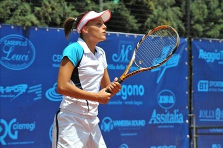 Tennis femminile a Monteroni: la finale è Giovine-Lisjak