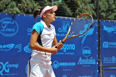 Tennis femminile a Monteroni: la fortuna aiuta la vice-Pennetta