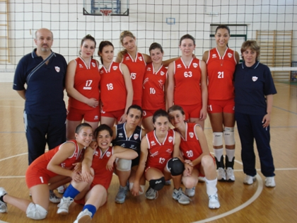 Poliziana Volley campione provinciale femminile di terza divisione