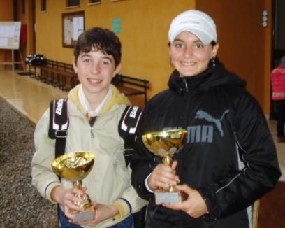 Alessi e De Vito, due belle speranze del tennis senese