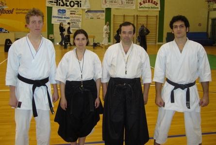 Karate: a Capannori tutti a medaglia gli atleti senesi