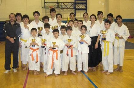 Lusinghieri risultati per gli atleti dello Shinan Karate Kai