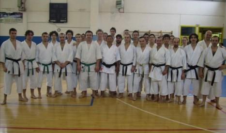 Karate: stage di Goshindo con il maestro Shirai