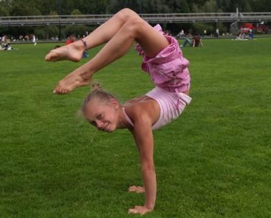 Giulia Leni campionessa regionale di ginnastica