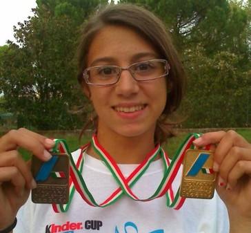 Irene Siracusa oro nella staffetta 4×100 ai Campionati Italiani Cadette