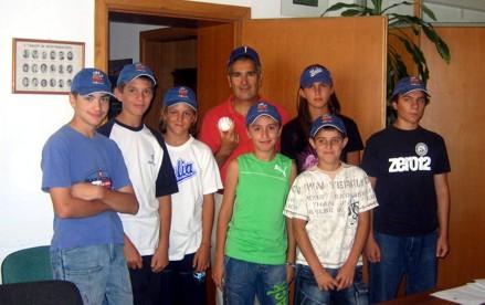 Baseball: Bm Monteriggioni dal sindaco, poi alle finali