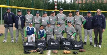 Baseball: probante torneo a Sticciano per gli Allievi senesi