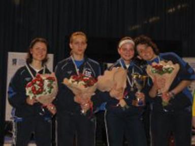 Uisp: argento alle ragazze della sciabola ai campionati nazionali