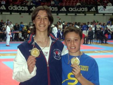 Karate: preziose medaglie per gli atleti del Grifo