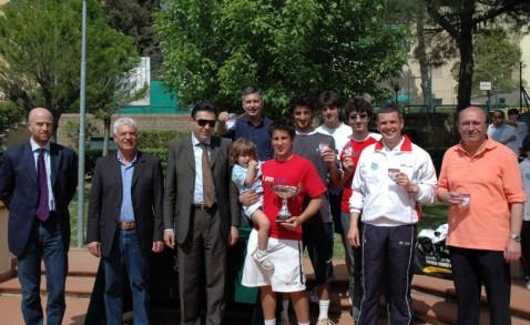 Il circolo tennis di Sinalunga  si laurea campione regionale