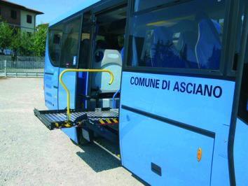 Nuovo scuolabus per gli studenti di Asciano