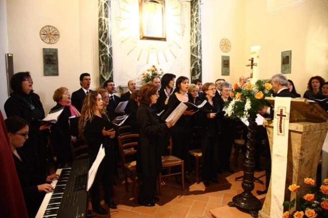 La corale di Torrenieri in concerto a Villa I Lecci