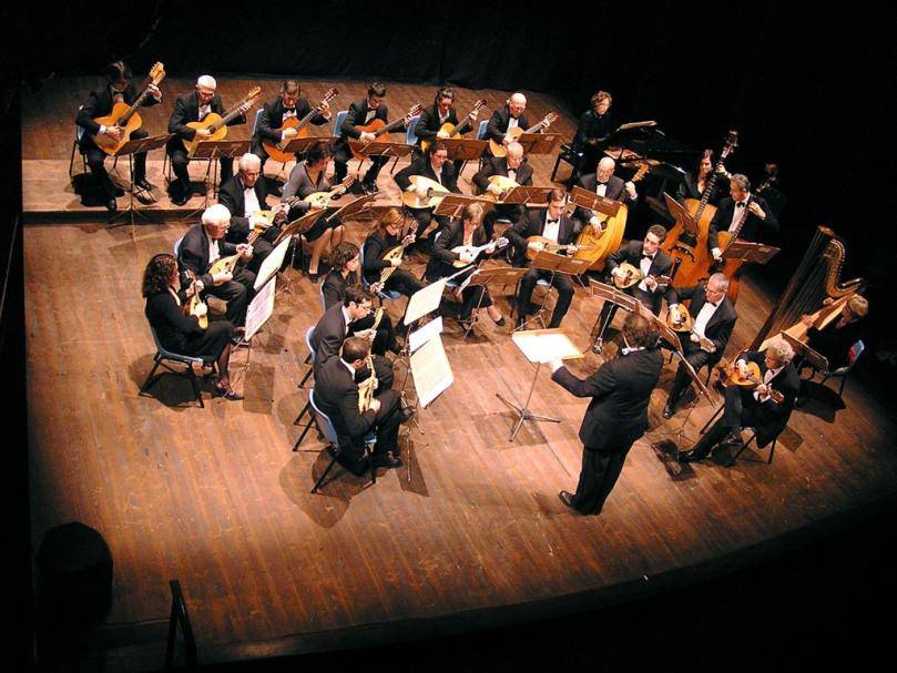 L'Orchestra a plettro suona a Santo Stefano alla Lizza