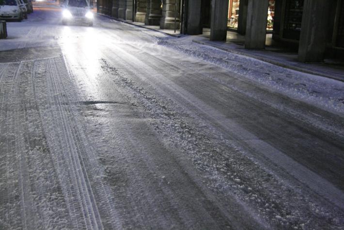 Maltempo: codice giallo per neve e ghiaccio