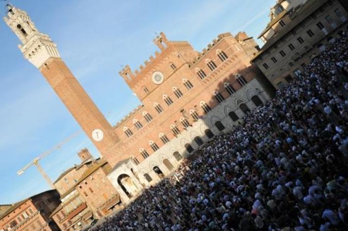 Palio: gli ospiti del Comune di Siena