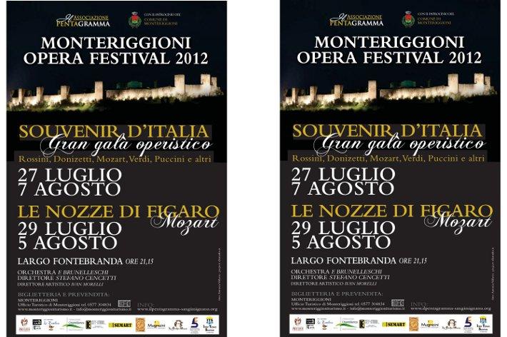 Il Castello di Monteriggioni si dà all'opera…