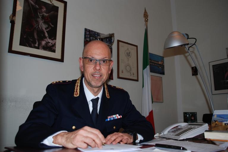 Primo giorno a Siena per il Vice Questore Aggiunto D'Egidio