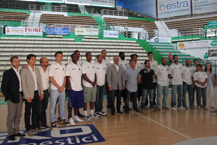 La Mens Sana torna a Siena per presentarsi ai tifosi