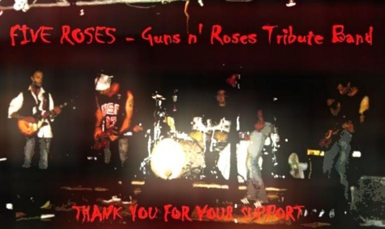 Serremaggio rock con i Five Roses in concerto