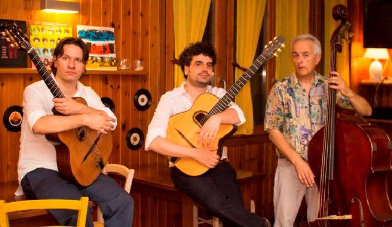 Gipsy Jazz Trio al Parco Sculture del Chianti