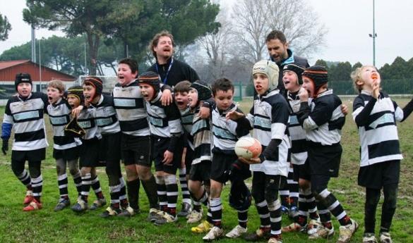 "Torneo di minirugby Ronald McDonald Italia al ""Sabbione"""