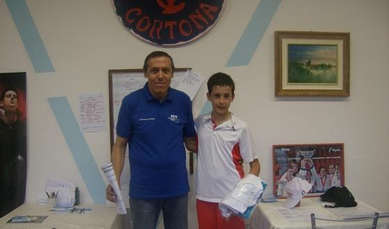A Cortona vittoria anche di Michele Seazzu