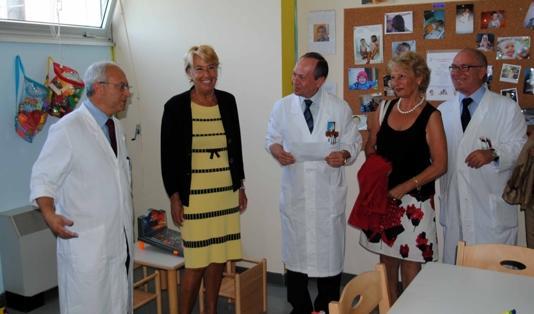 Scotte: inaugurata la ludoteca di Chirurgia pediatrica