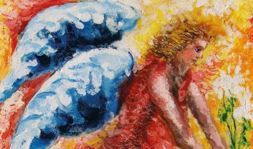 Gli angeli di Mauro Capitani in volo su Cortona