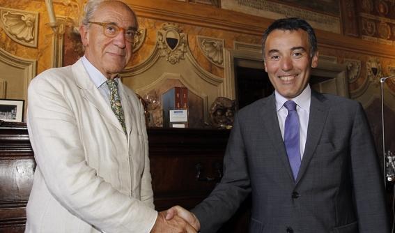 Ceccuzzi ha ripreso gli incontri con gli ex-sindaci
