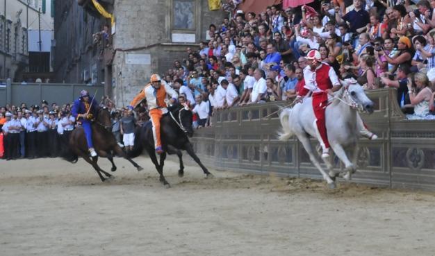 I cavalli da Palio protagonisti alla Fattoria in Fortezza