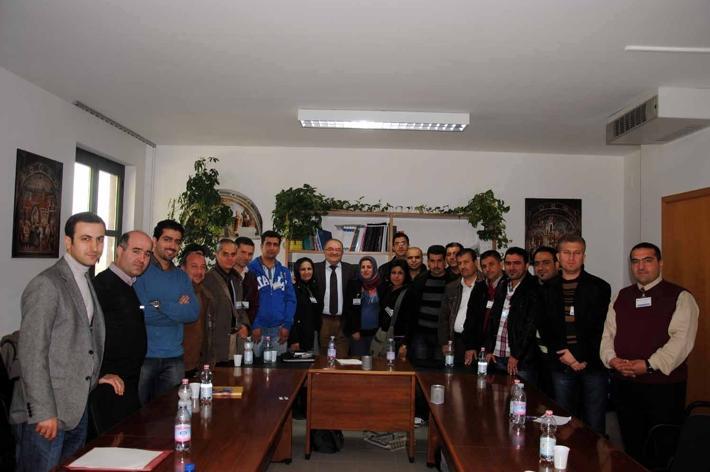 Alle Scotte i professionisti curdi della sanità